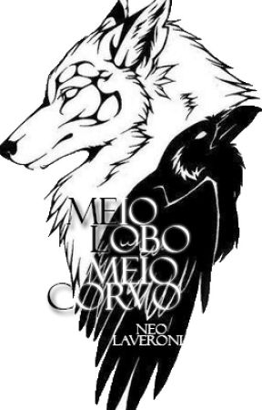 Meio lobo, meio corvo by chimeriane