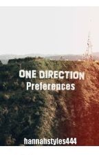 One Direction Preferences by HannahStyles444