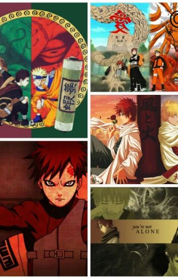 Silence Of The Rain || Gaara X Naruto