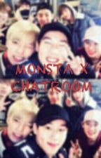 MONSTA X CHATROOM  by Styxmoon