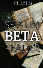 Seja um Beta Reader by leitoresbeta