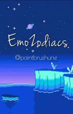 Emo Quartet Zodiacs by paintbrushurie