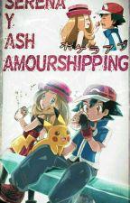 Amourshipping (Ash y Serena)  by BlackSw0rdman
