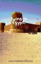 twins in Egypt. by usernameisntfound