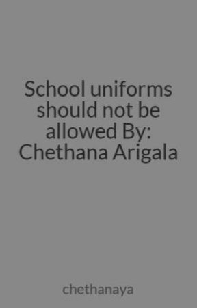 school uniforms should not be allowed