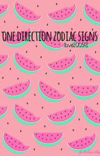 one direction zodiac signs by love10098
