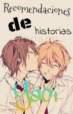 Recomendaciones De Historias Yaoi by MrPann