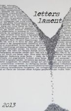 letters lament by lexturient