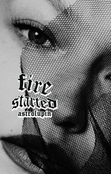 Firestarted ∆ Alec Lightwood