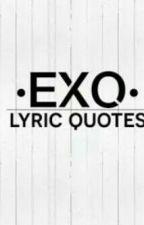 EXO_lyric On Album by EXO_luxionFiah