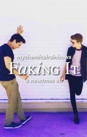 Faking It [Newtmas AU]