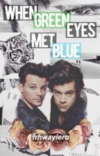 when green eyes met blue →Larry AU by frhwayiero