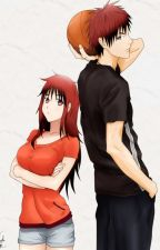 Kagami's Twin sister (KnB) by somethingsomeone1001