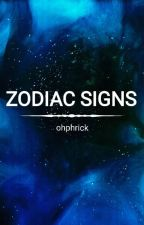 Zodiac Signs by ohphrick