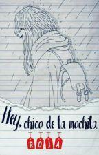 Hey, Chico de la mochila roja! #NHAwards  by Miss_Caneloweski
