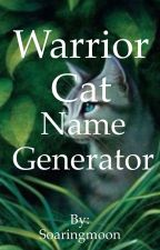 Warrior Cat Name Generator by Topaz_Moon