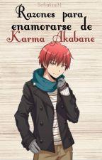 Razones para amar a Karma Akabane by sofializa31