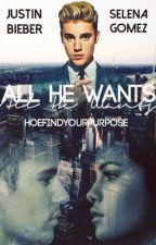 All He Wants [Jelena]✔️ by HoeFindYourPurpose