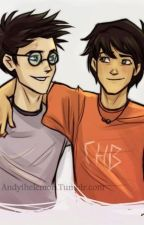 Percy Jackson i Harry Potter by IkiDragon