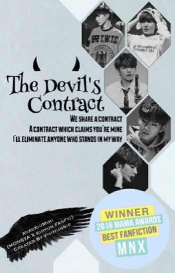 The Devil's Contract [MONSTA X Kihyun FanFic]