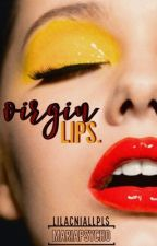 virgin lips. | romanian // terminată by mariapsycho