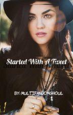 Started With A Tweet  ↠ Stiles Stilinski by multifandomghoul