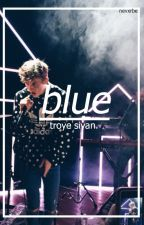 blue ☾ troye sivan by 80stime