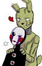 SpringTrap x Puppet/Marionette by xXSpringTrapBunnyXx