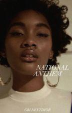 national anthem .. hs  by grlnextdior