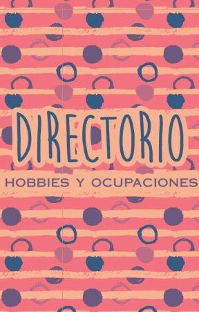 Hobbies y ocupaciones by Directorio