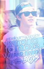 """Try not to fall in love with any of the boys."" (Niall Horan Love Story) by rebelliousmockingjay"
