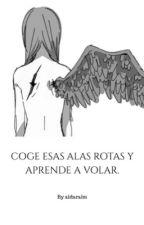 Coge esas alas rotas y aprende a volar. by aldaralm