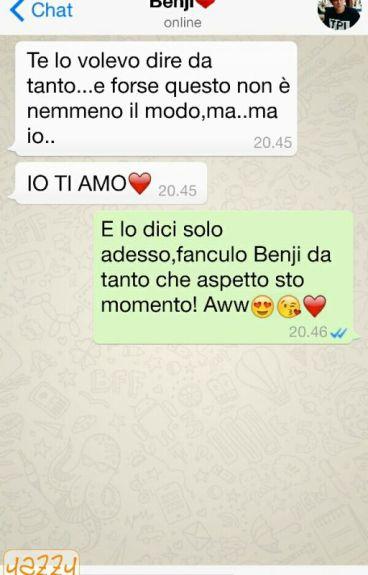 Whatsapp-Benji & Fede