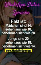 WhatsApp Status Sprüche ♡ by -Mondfeder-
