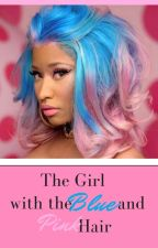 The Girl with the Blue and Pink Hair by DrickiAddict