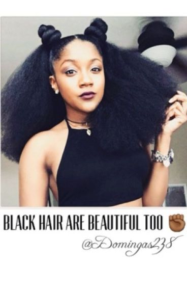 Black Hair are Beautiful Too