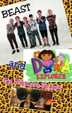 Beast and Dora the Explorer for Victoria Secret [FINISHED] by rizkaleonitaa