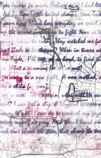 Lyrics by toxicwonderland123