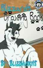 Blizzard's Drawing Book by BlizzHusky15