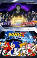 The Blader Kids Teleport to Sonic's World by JillianBelche