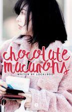 chocolate macarons | hoshi [SVT.S #2] by localboo