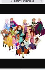 Disney genderbend by emmycorn