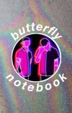 Butterfly Notebook (Joshler) by blxrrylands