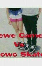 Cewe Gamers Vs Cowo Skate by catylaxia