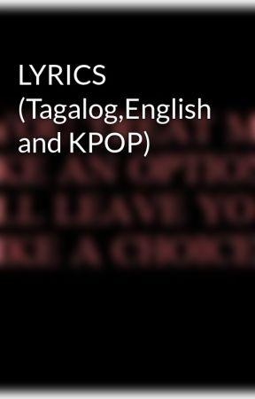 lyrics tagalogenglish and kpop