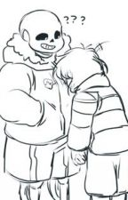 Sans X Frisk - ¡Sorpresa! (One Shot) by Deybel1313
