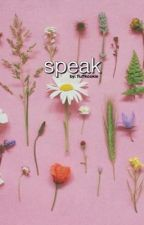 speak | taehyung by fluffkookie