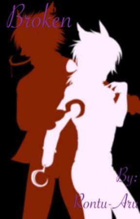 Broken (FNaF Highschool)(Foxy X Mangle) by Rontu-Aru
