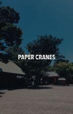 paper cranes ↺ o.sh by -mijuliet