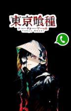 Tokyo Ghoul Whatsapp by ActuallyOta